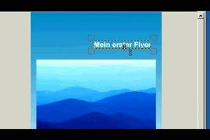 Flyer-Vorlage in GIMP erstellen