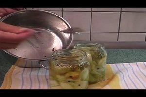 Rezept: Senfgurken einlegen - so gelingt's
