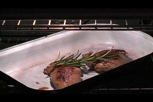 Wie mache ich ein Steak im Ofen?