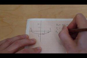 Quadratische Funktionen - aus Textaufgaben die richtige Funktion aufstellen