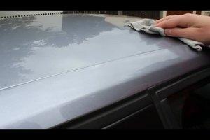 Wie poliere ich mein Auto auf Hochglanz?