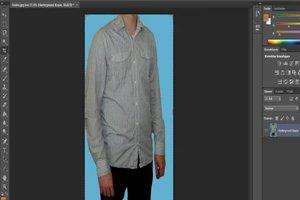 Adobe Bildbearbeitung - Bauch weg machen