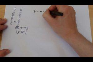 Federkonstante berechnen - Anleitung
