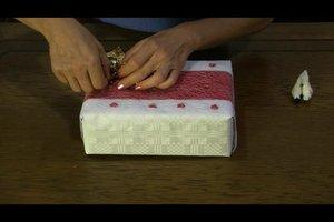 Hochzeitsgeschenke verpacken - Anleitung
