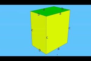 Mantelfläche vom Quader berechnen - so geht's