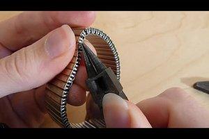 Gliederarmband kürzen - Anleitung