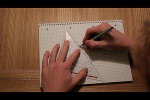 Wie zeichnet man eine Seitenhalbierende? - So gehen Sie vor