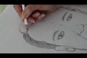 Portraits zeichnen lernen - erste Übungen