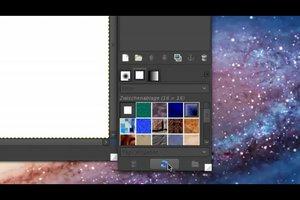 GIMP - Pattern installieren