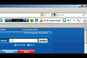 Winload Toolbar entfernen - so gelingt die Deinstallation