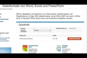 DOCX-Dateien mit Word 2003 öffnen - so geht's