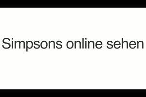 Die Simpsons online legal sehen - so geht´s
