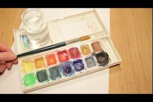 Welche Farben ergeben Lila? - So mischen Sie Wasserfarben richtig
