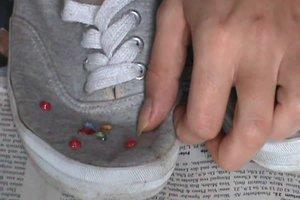 Schuhe selbst designen - kreative Ideen