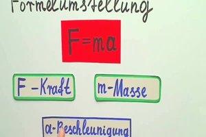 Formelumstellung - Erklärung wie's geht
