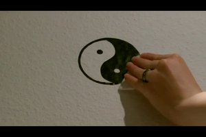 Wandtattoo selber malen - eine kreative Idee