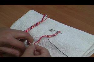 Knüpfbänder selber machen - Anleitung