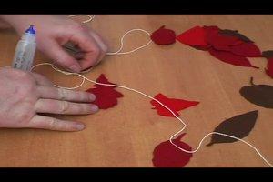 Herbstdeko selber basteln - so geht's ohne Naturmaterialien