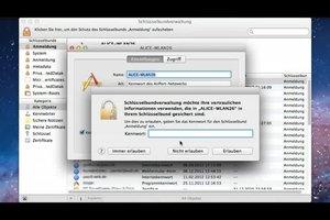 Netzwerkpasswort anzeigen lassen - so geht's bei Mac