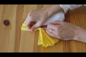 Faschingskostüm als Hawaiimädchen selber gestalten
