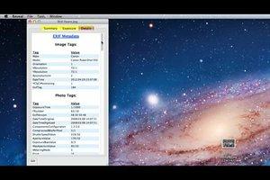 Exif-Daten ändern bei Mac - so geht's