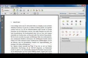 In PDF markieren - so gehen Sie vor