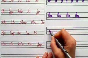 Schön schreiben - so klappt die Schönschrift