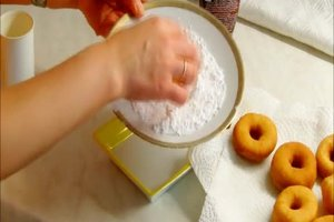 Donut - Rezept ohne Donutmaker