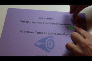 Urkunden erstellen fürs Sportfest