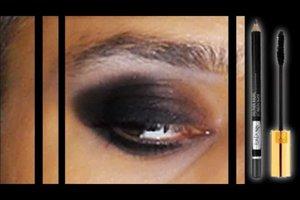 Die Augen schwarz schminken - so machen Sie es richtig