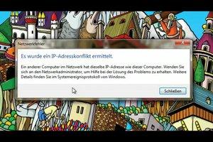 IP-Adressenkonflikt ermittelt - so beheben Sie das Problem im Netzwerk