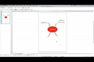 In OpenOffice Mindmap erstellen - hilfreiche Hinweise