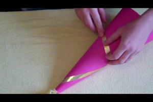 Feenhut basteln für Karneval - Schritt-für-Schritt-Anleitung