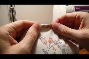 Kissen selber nähen - Anleitung für ein rundes Kissen
