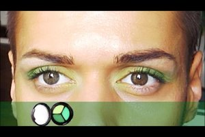 Lidschatten bei braunen Augen - so legen Sie ihn richtig auf