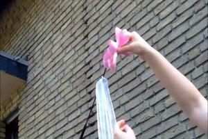Selber hochzeit machen für antennenschleifen DIY Autoschleifen