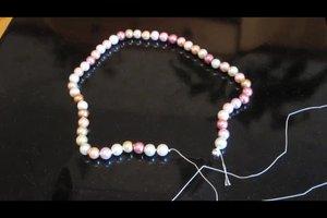 Anleitung - Perlenkette selber machen