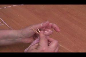 Kinder-Fäustlinge für die Kleinsten selber stricken.