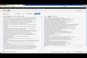 PDF-Dateien übersetzen - so geht's