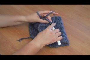 Rundschal aus Wolle häkeln - Anleitung