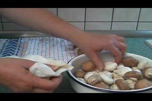 Pilzsuppe - Rezept mit Sahne
