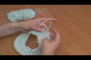 Mütze stricken mit Rundstricknadel - eine Anleitung