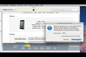 Im iPhone gelöschte SMS zurückholen - so geht's