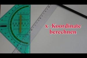 Fehlende Koordinate berechnen - so geht's bei einer linearen Funktion
