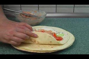 Wrap: die Füllung pikant gestalten - zwei Varianten