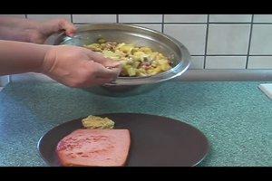 Bayerischer Kartoffelsalat - ein leckeres Rezept