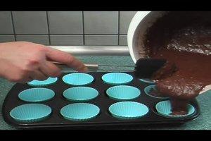 Amerikanische Schokomuffins - Rezept