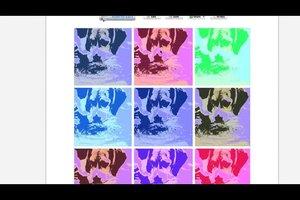 Pop-Art selber machen - kostenlos mit Demo-Software