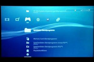 Bei der PS3 den Speicher löschen - so gehen Sie vor