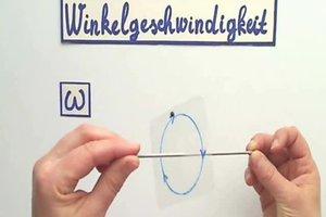 Winkelgeschwindigkeit - die Formel einfach erklärt